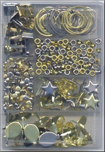 Embellishment Kit - Gold & Silver