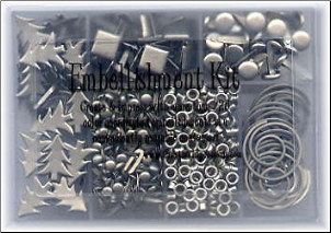 Embellishment Kit - Pewter