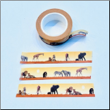 Safari Washi Tape
