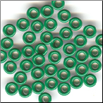 "25 Round 1/8"" Bazzill Eyelets - Green"